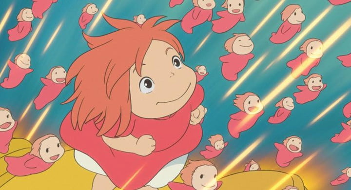 Frame of the film Ponyo and the secret of the little mermaid