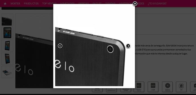 Woxter Zielo Tab 101 9.7 inch camera