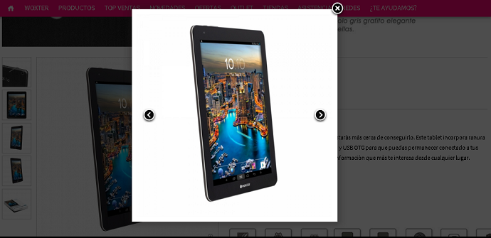 Woxter Zielo Tab 101 9.7 inch tablet