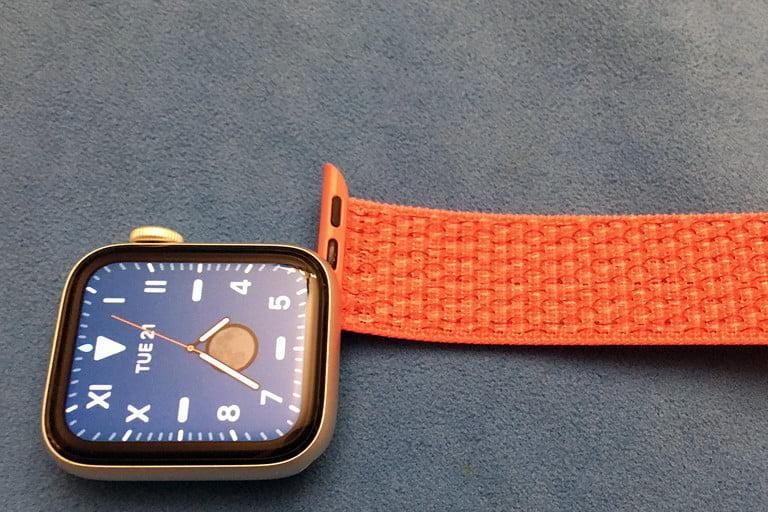 Orange Apple Watch Strap