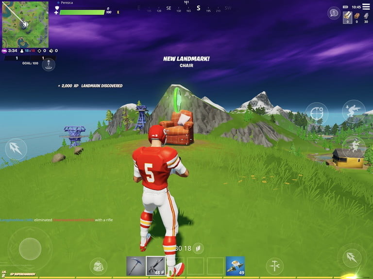 Lonely Recliner in Fortnite