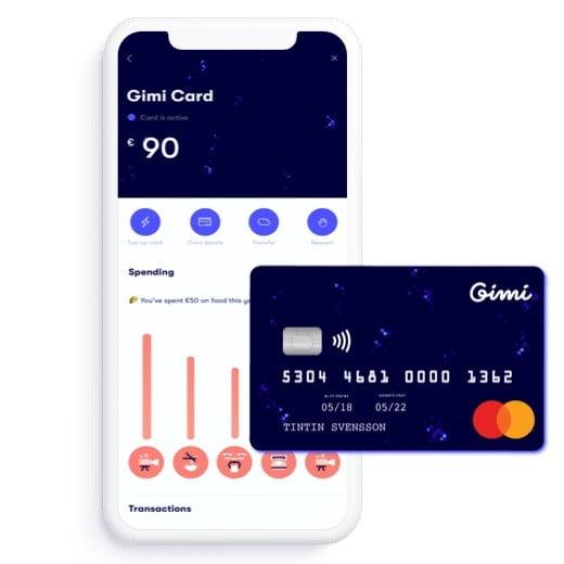 Gimi, virtual money