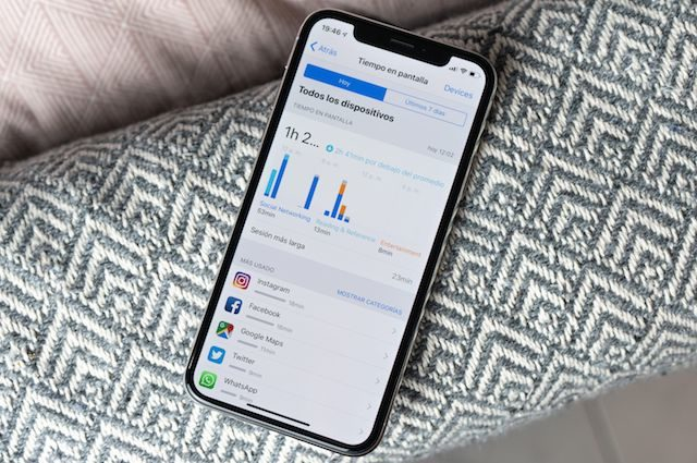 Use time iOS 12 parental control