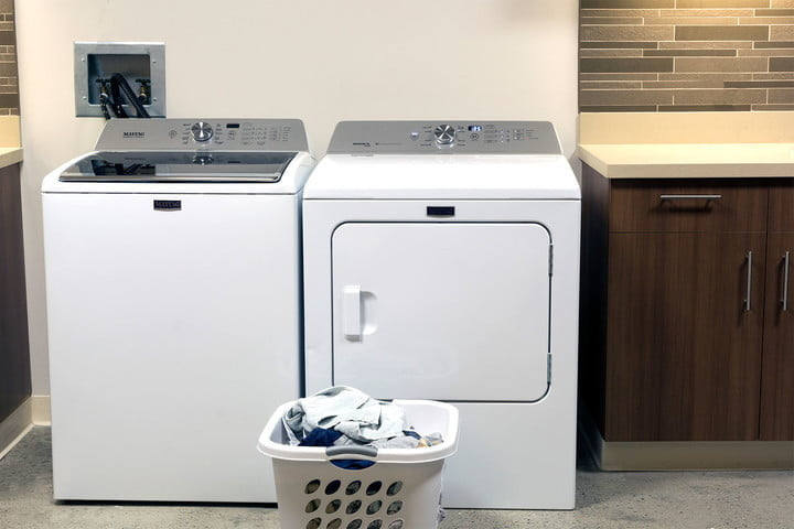 The price is another of the big differences between gas dryers vs. electric dryers