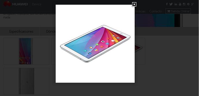 White T1 Mediapad