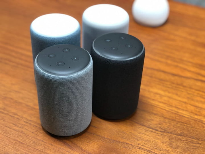 Amazon echo and dot speakers