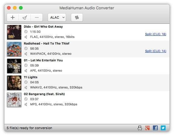 mediahuman music file converter
