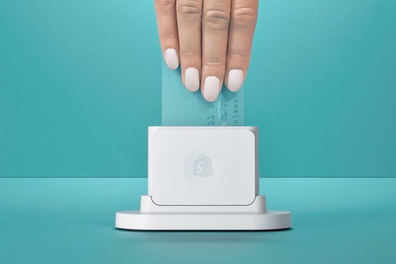 Shopify mobile credit card reader