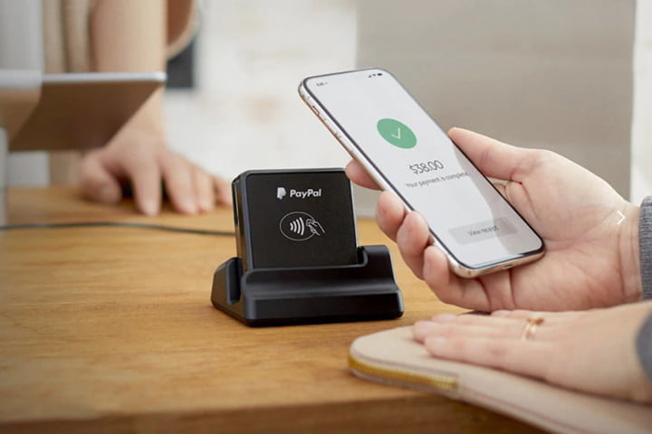 PayPal HeRe mobile credit card reader