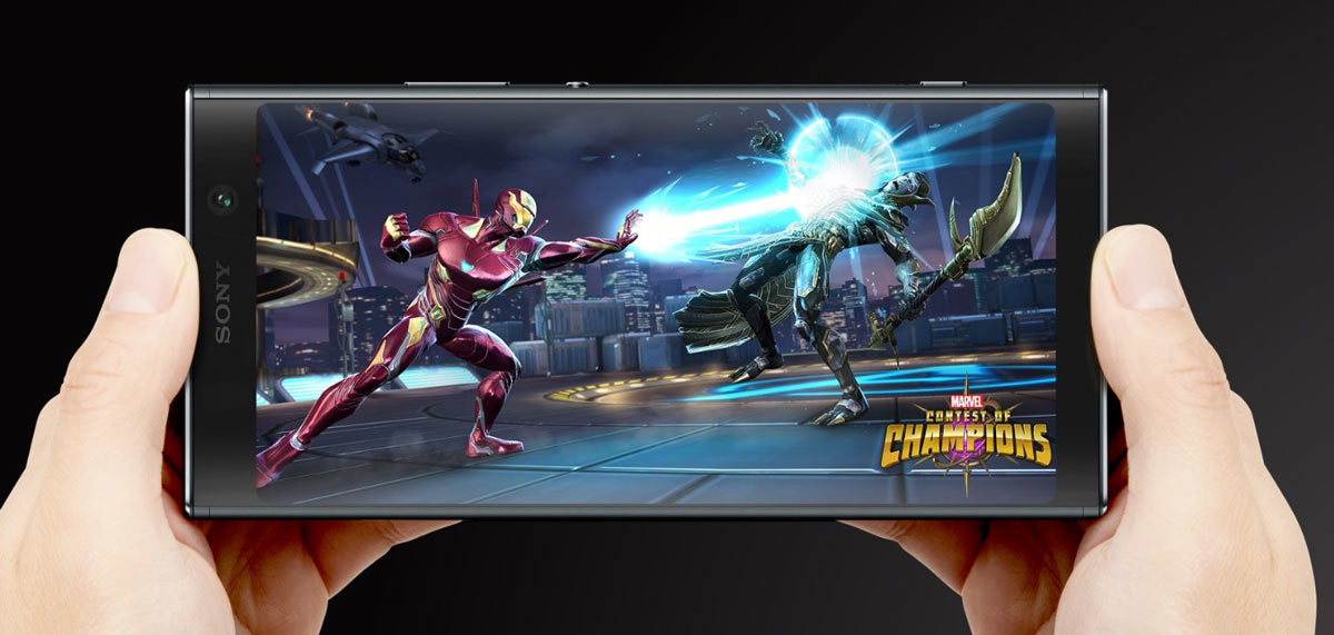Sony Xperia XA2 Plus, huge 18: 9 screen for a balanced mobile
