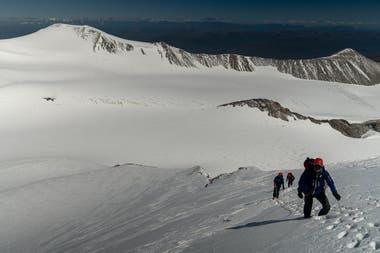 Khobe Clarke had to prepare to climb mountains