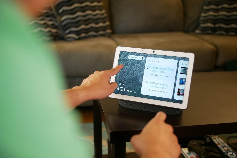 facebook portal vs google nest hub max review 10 of 14 1500x1001