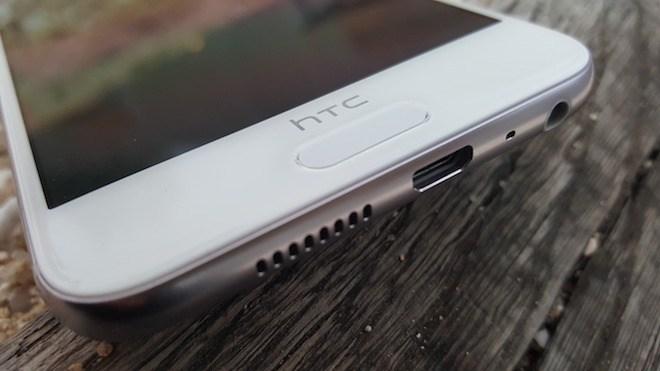 HTC One A9 fingerprint reader