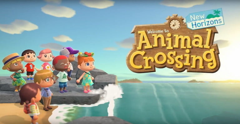 capture of the Animal Crossing: New Horizons video game