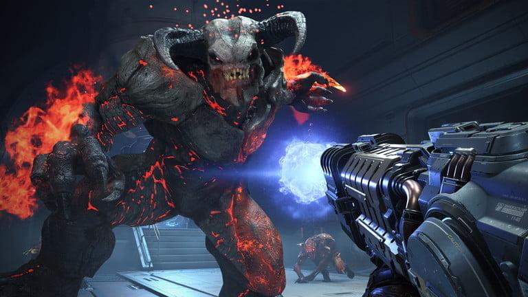 capture of the video game Doom Eternal