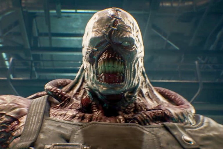 screenshot of the Resident Evil 3 video game