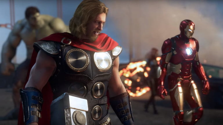 Screenshot of Marvels Avengers, one of the most anticipated video games of 2020