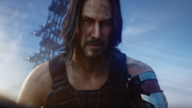 Screenshot of Cyberpunk 2077, one of the most anticipated video games of 2020