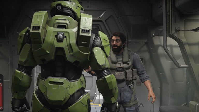 Screenshot of Halo Infinite, one of the most anticipated video games of 2020