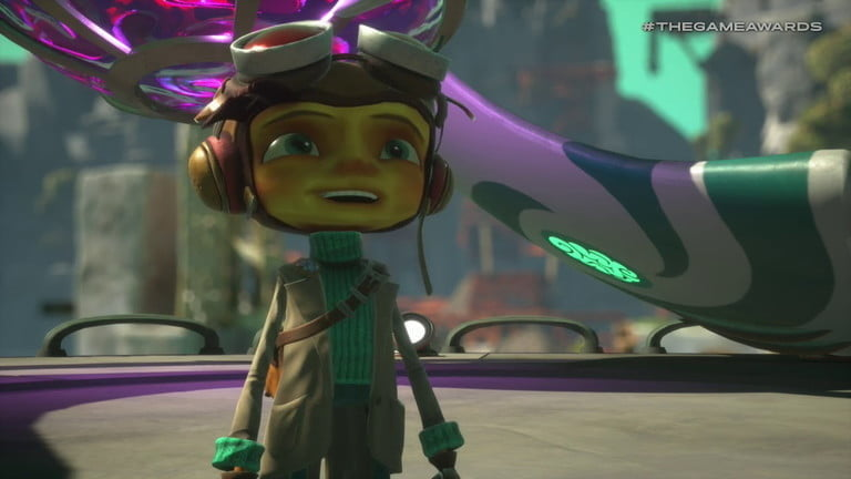Screenshot of Psychonauts 2, one of the most anticipated video games of 2020