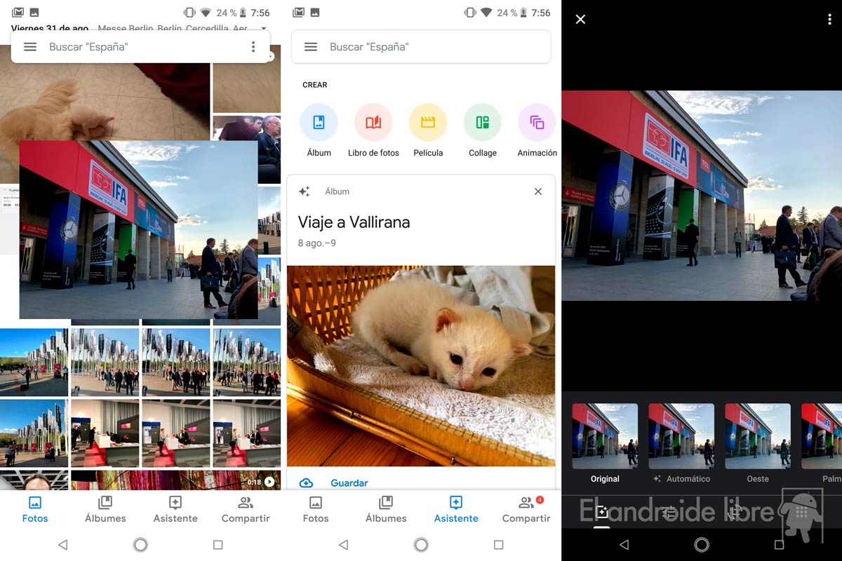 New design for Google Photos, now with more Material Design