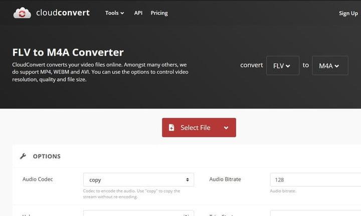 convert FLV to MP4 cloud convert