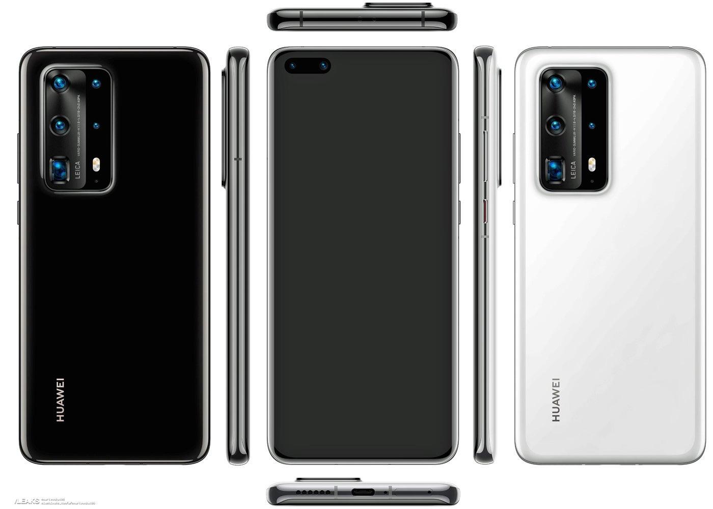 Huawei P40 design