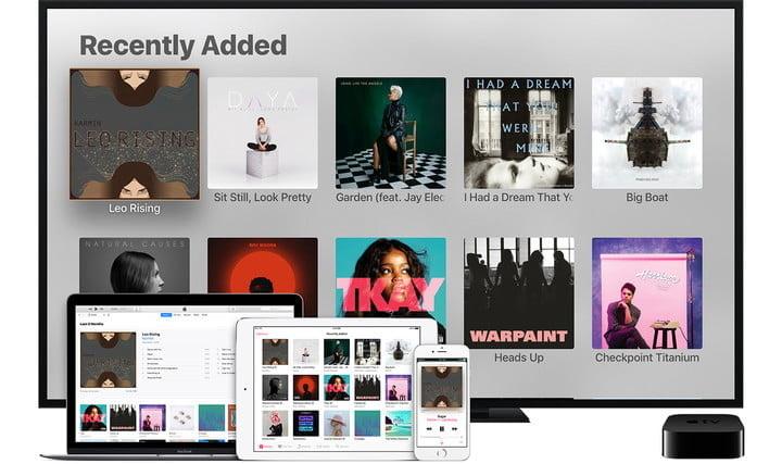 Apple Music screen