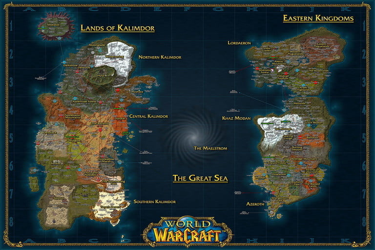 Find an area according to your level to quickly level up in WoW Classic