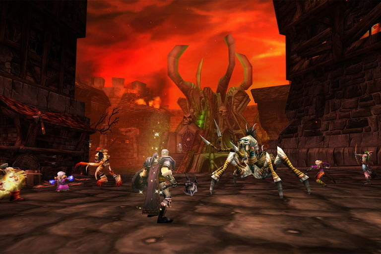 Dungeons are also an option to quickly level up in WoW Classic.