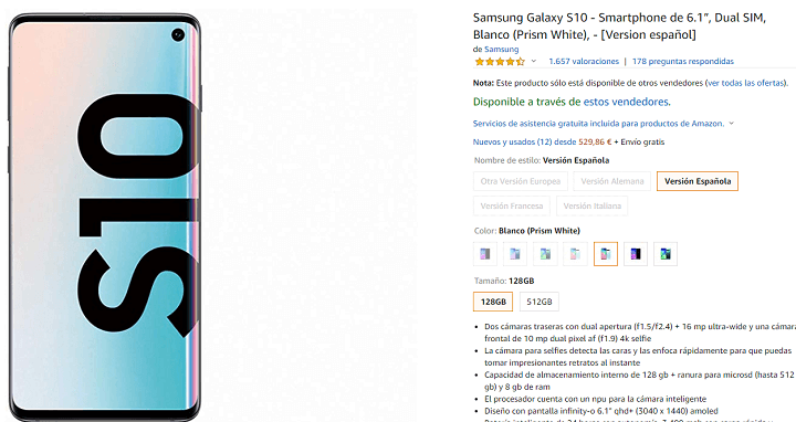 Image - Price of the Galaxy S10 in 2020