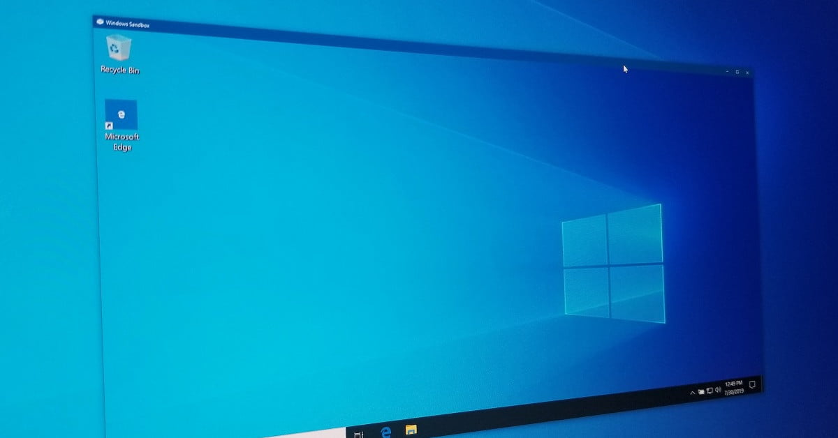 How to use Windows Sandbox and create a secure virtual environment