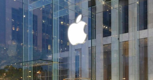Apple is patenting something with a lot of glass