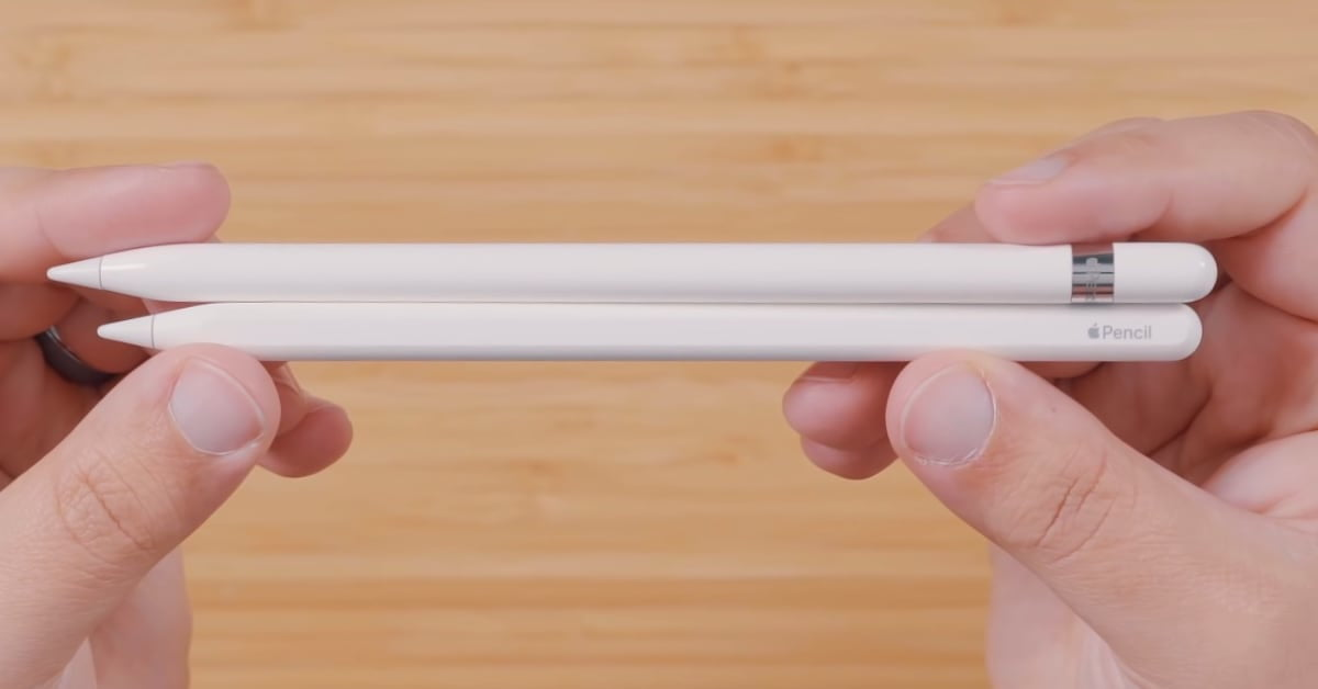 The new Apple Pencil can vibrate and be touch sensitive