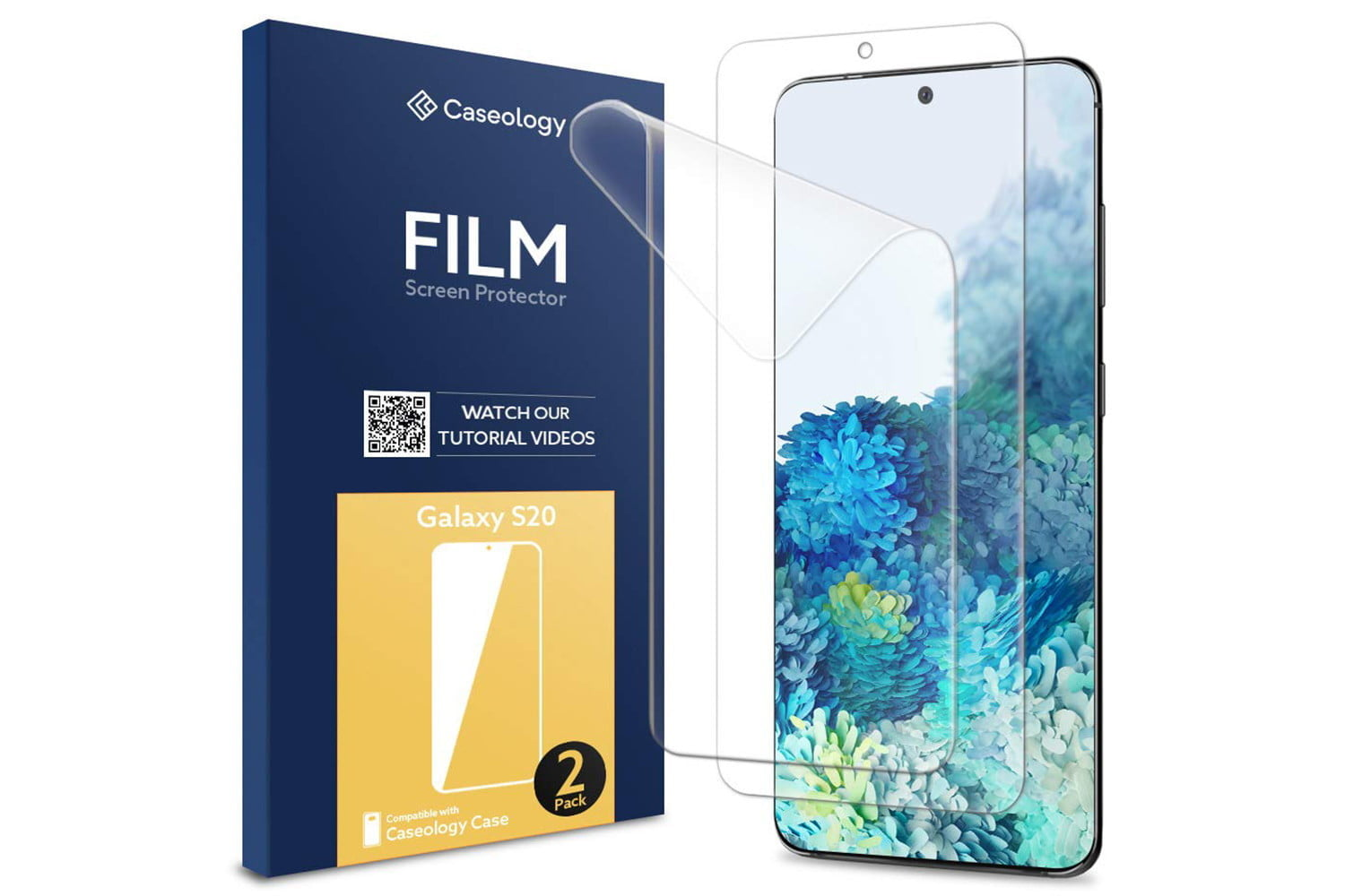 Caseology Film, Samsung Galaxy S20 screen protector