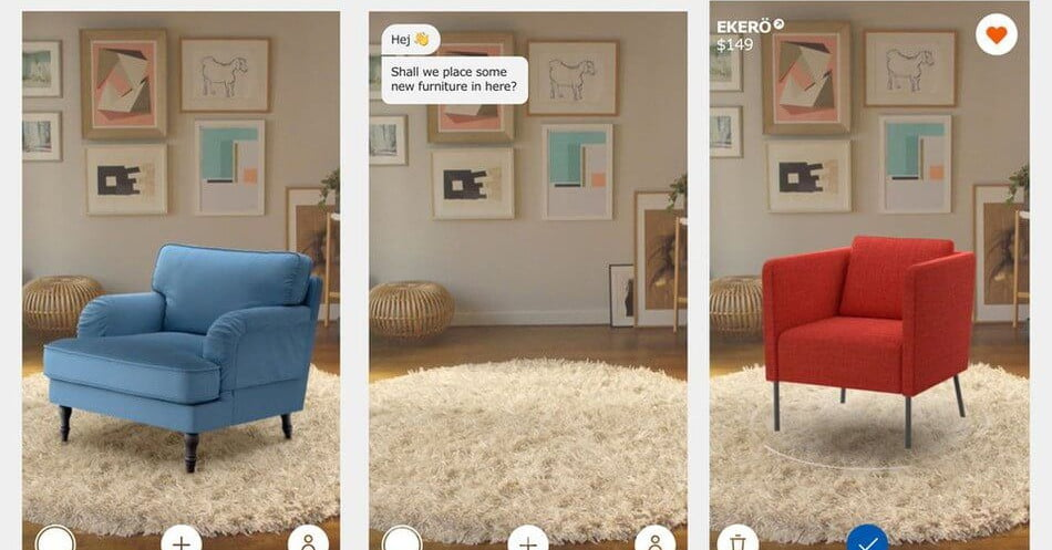 Apple implements augmented reality for shopping app