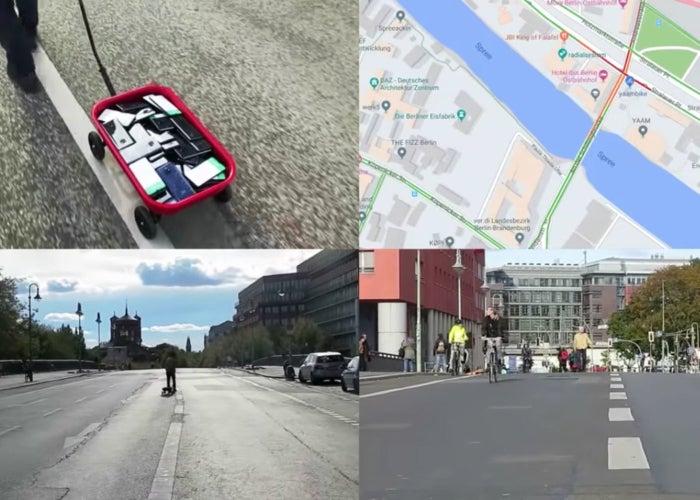 Google Maps jam 99 cell phones