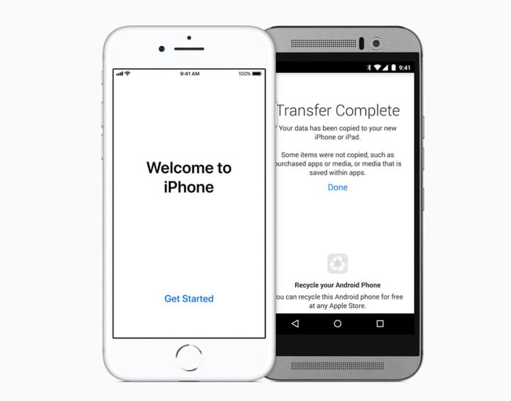 how to change from android to iphone to