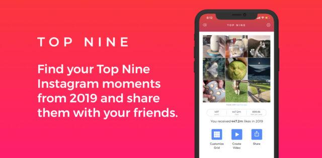 Top Nine Instagram 2019