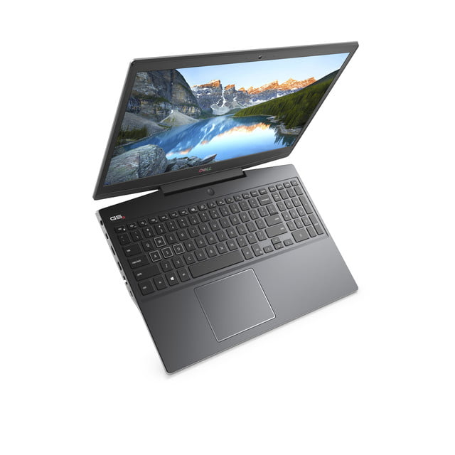 dell g5 15 se ces 2020 special edition ryzen keyboard view