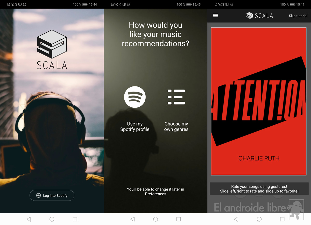 Discover new music on Spotify with this Tinder application