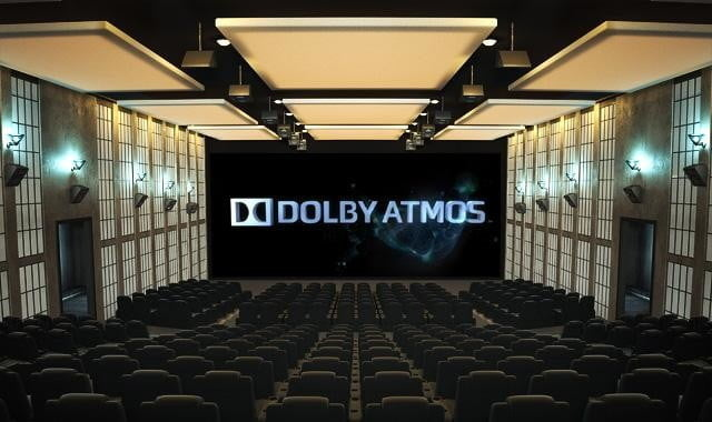 Dolby Atmos compatible movie theater