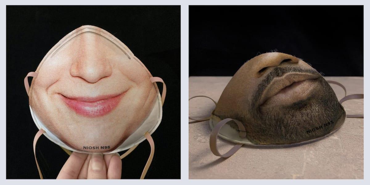 Mascaras impresas Face ID