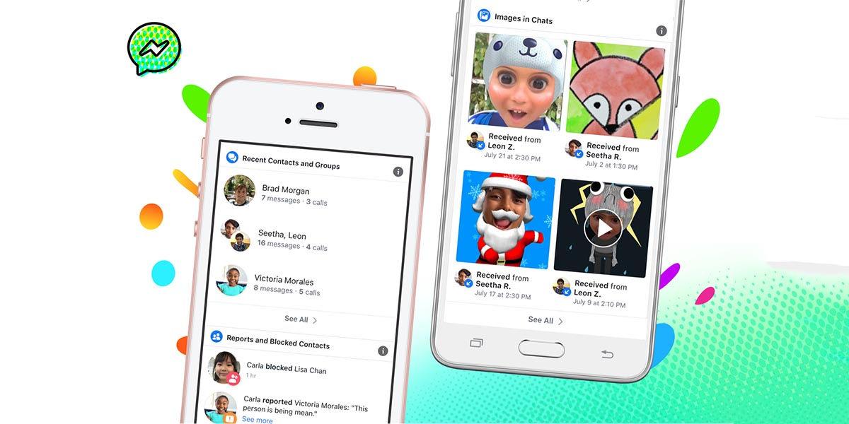 security improvements messenger kids
