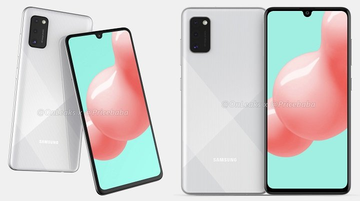 Image - Filtered the possible design of the Samsung Galaxy A41
