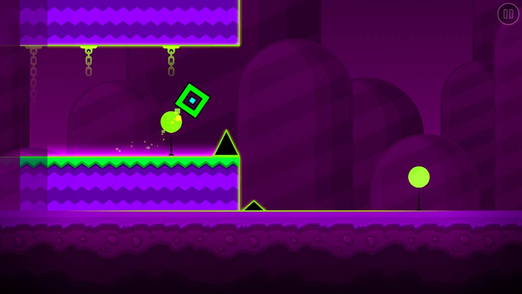 Geometry Dash World, the continuation of a very popular Android game