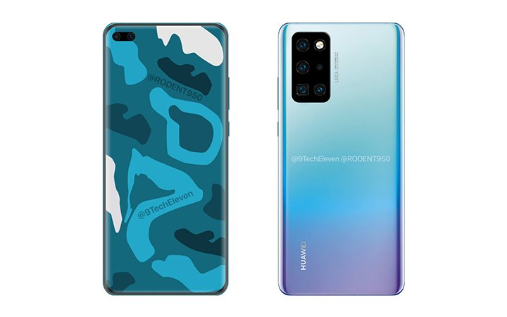 Image - Huawei P40 Pro on video with 7 cameras