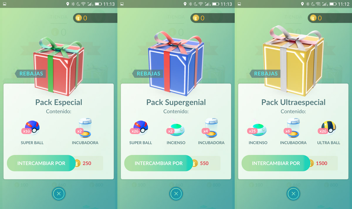 Pokémon GO offers pokéballs packs, incense, incubators ...
