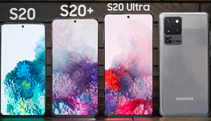 Samsung S20 + and S20 Ultra advance orders can come with a gift