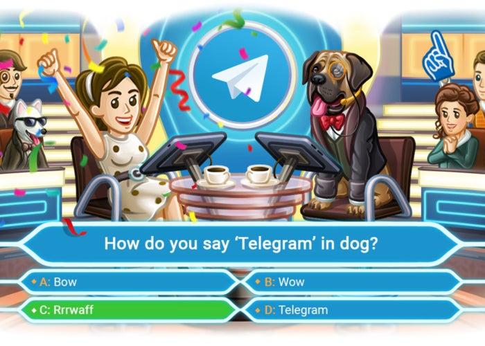 telegram surveys update